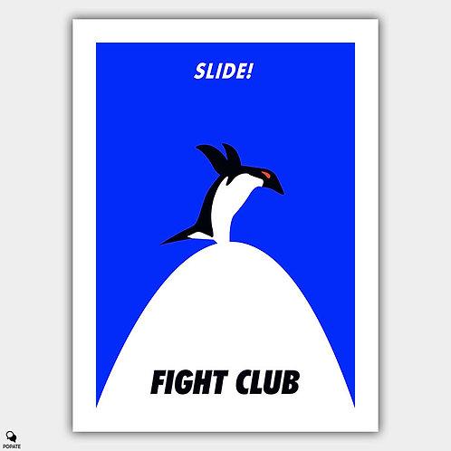 Fight Club Minimalist Poster - Slide