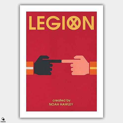 Legion Minimalist Poster -Touch