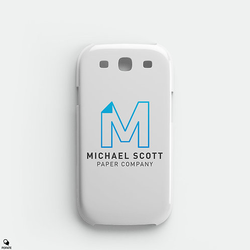 Michael Scott Paper Company Galaxy Phone Case from The Office