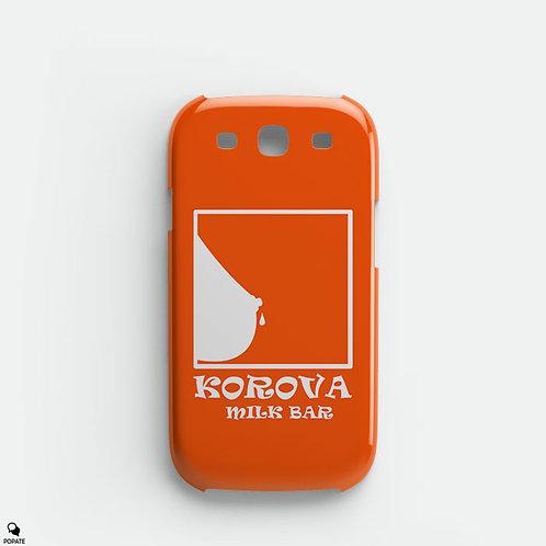 Korova Milk Bar Alternative Galaxy Phone Case from A Clockwork Orange