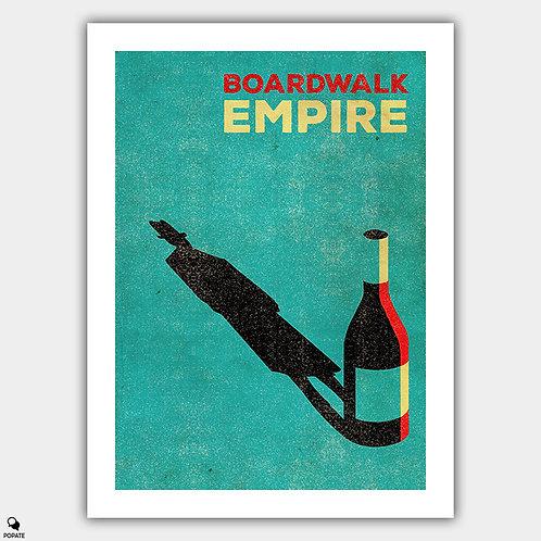 Boardwalk Empire Vintage Poster