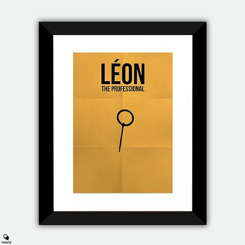 Leon The Professional Minimalist Framed Print