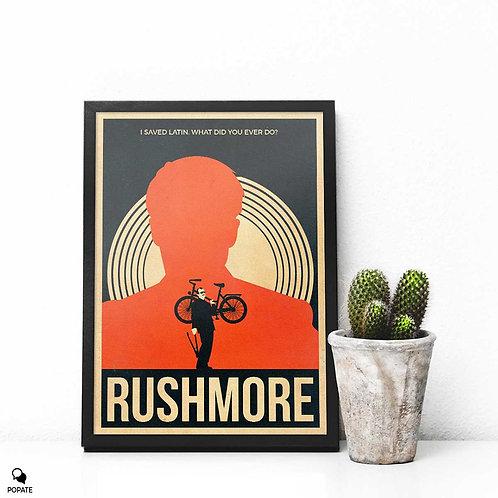 Rushmore Vintage Framed Print