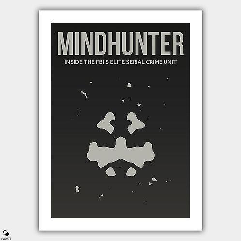 Mindhunter Minimalist Poster - Rorschach