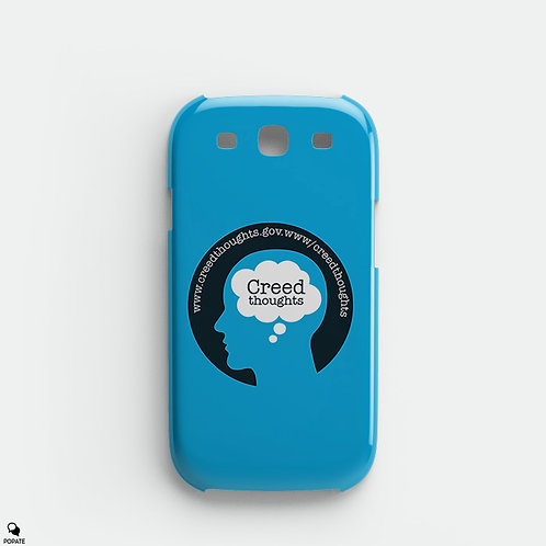 Creed Thoughts Alternative Galaxy Phone Case from The Office