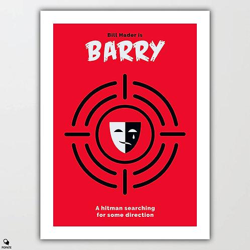 Barry Minimalist Poster