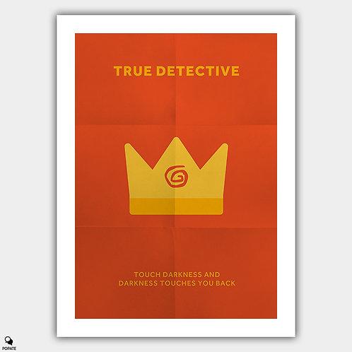 True Detective Minimalist Poster - Yellow King