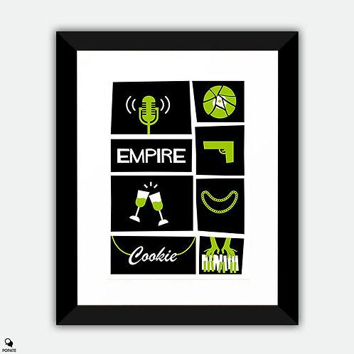 Empire Saul Bass Style Alternative Framed Print
