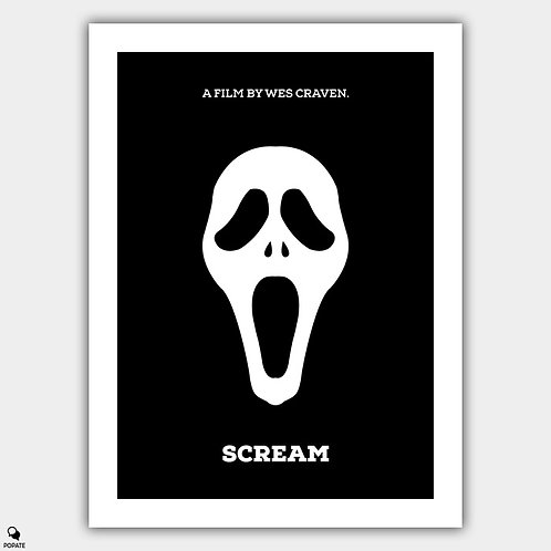 Scream Minimalist Poster
