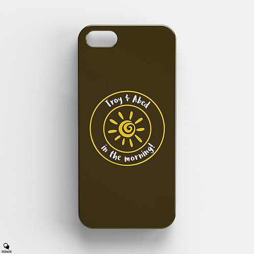 Troy and Abed in the Morning Alternative iPhone Case from Community
