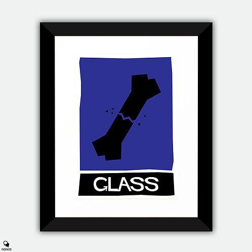Glass Alternative Vintage Saul Bass Framed Print
