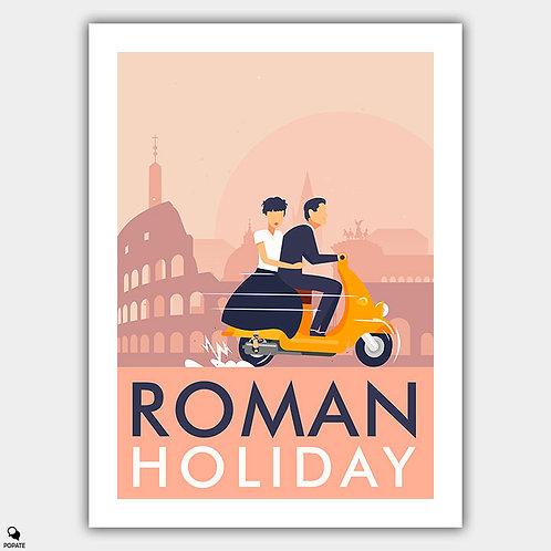 Roman Holiday Alternative Poster