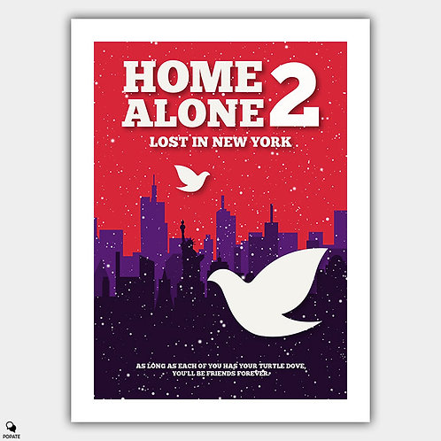 Home Alone 2 Minimalist Poster