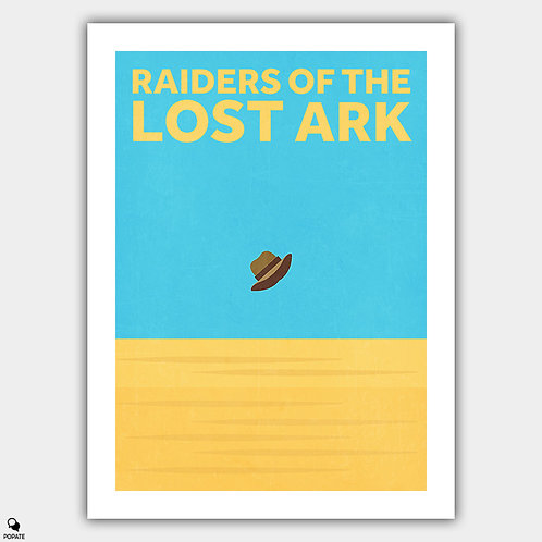 Raiders Of The Lost Ark Minimalist Poster