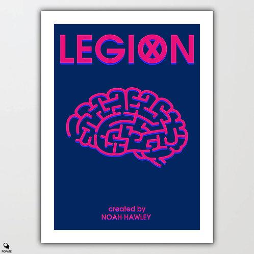 Legion Minimalist Poster - Brain
