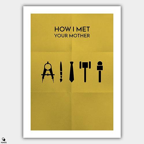 How I Met Your Mother Minimalist Poster