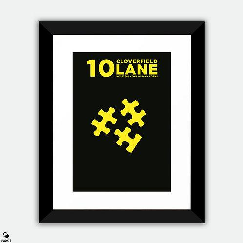 10 Cloverfield Lane Minimalist Framed Print