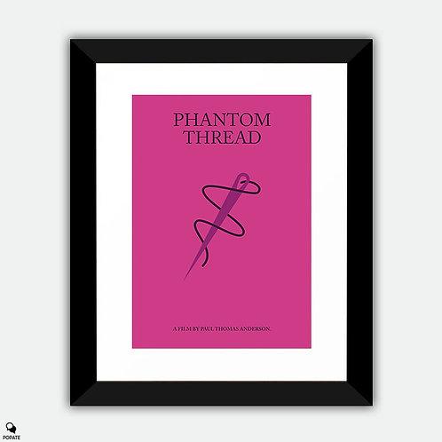 Phantom Thread Minimalist Framed Print