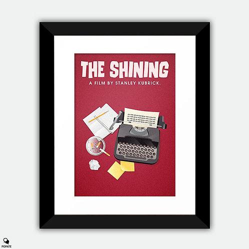 The Shining Alternative Framed Print - Typewriter