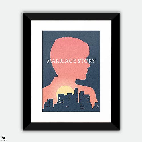 Marriage Story Alternative Framed Print - Nicole