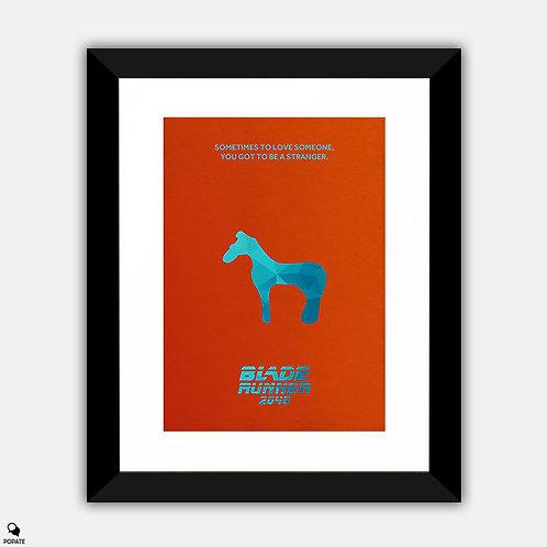 Blade Runner 2049 Minimalist Framed Print