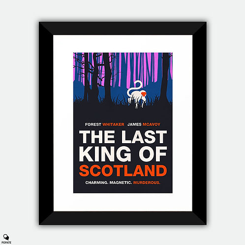 The Last King Of Scotland Alternative Minimalist Framed Print