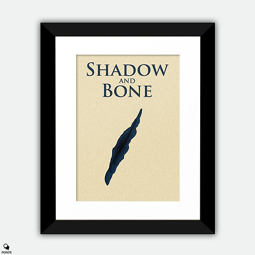Shadow and Bone Minimalist Framed Print