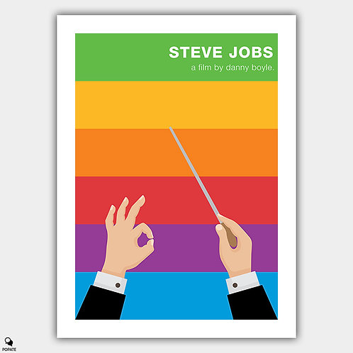 Steve Jobs Minimalist Poster - Play The Orchestra