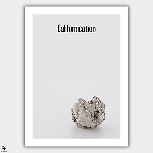 Californication Minimalist Poster