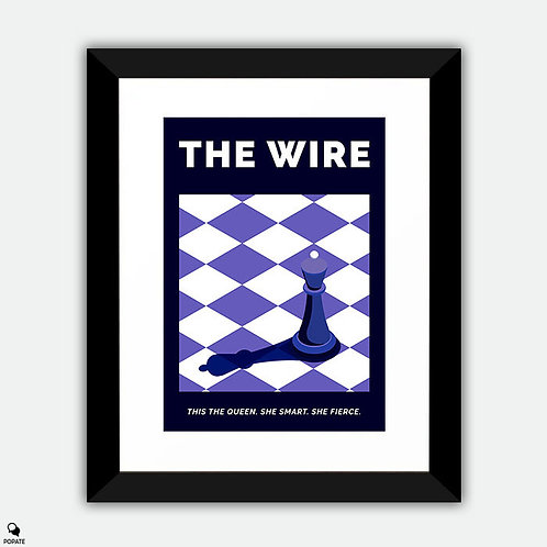 The Wire Alternative Framed Print - The Queen