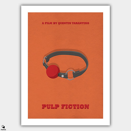 Pulp Fiction Alternative Poster - Marsellus Wallace