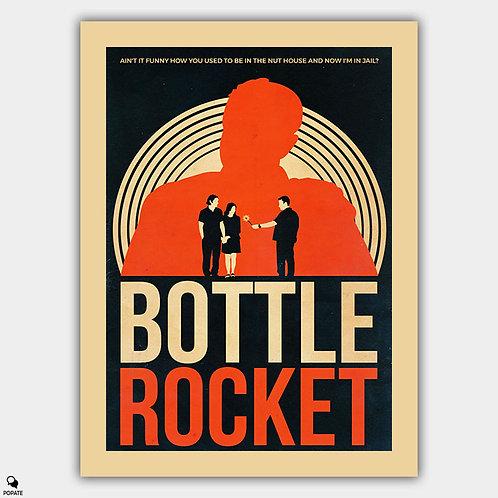 Bottle Rocket Vintage Alternative Poster