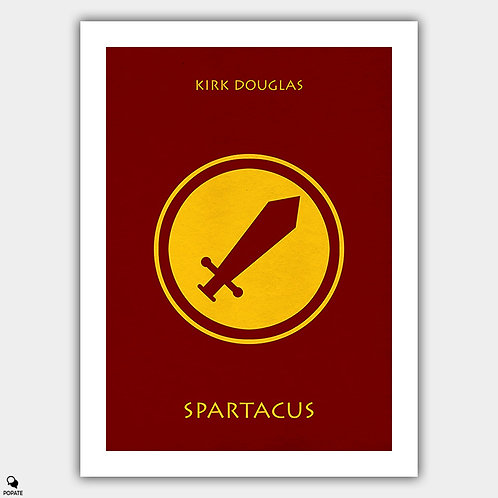 Spartacus Minimalist Poster