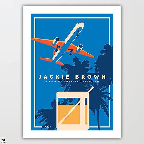 Jackie Brown Alternative Poster