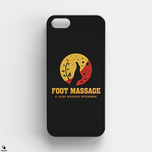 Foot Massage by Jules Winfield Alternative iPhone Case from Pulp Fiction