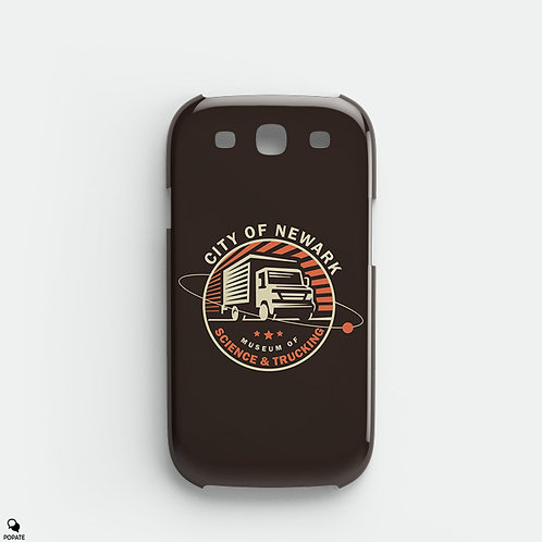 City of Newark Museum of Science & Trucking Galaxy Phone Case from The Sopranos
