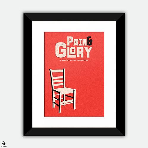 Pain and Glory Minimalist Framed Print