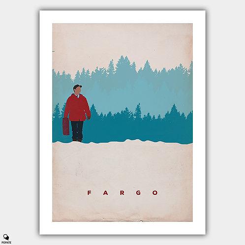 Fargo Minimalist Vintage Poster