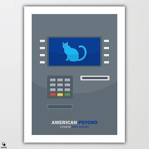 American Psycho Minimalist Poster - ATM