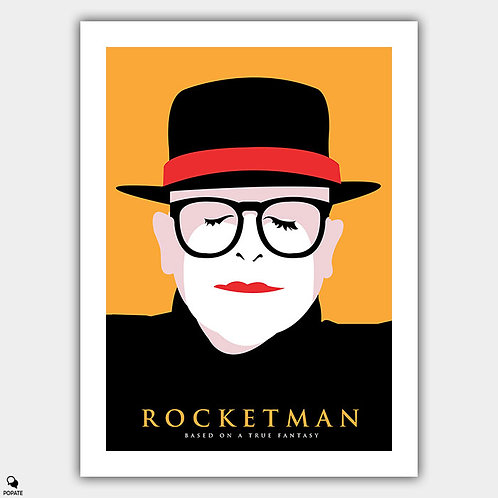 Rocketman Alternative Poster