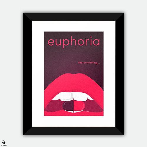 Euphoria Alternative Framed Print