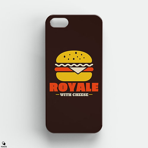 Royale With Cheese Alternative iPhone Case from Pulp Fiction