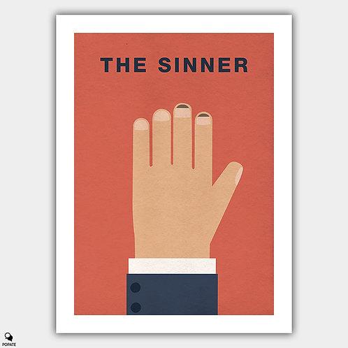 The Sinner Minimalist Poster