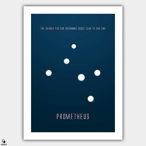 Prometheus Minimalist Poster