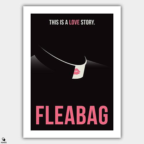 Fleabag Minimalist Poster - A Love Story