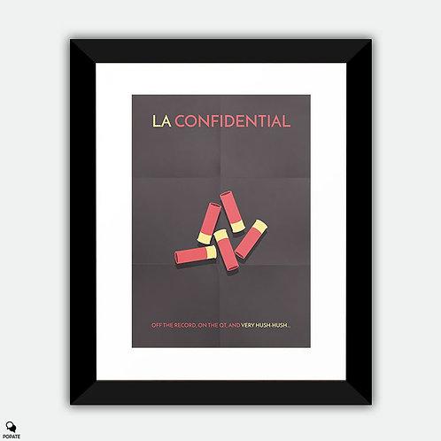 L.A. Confidential Minimalist Framed Print