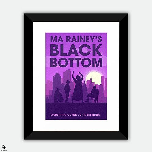 Ma Rainey's Black Bottom Minimalist Framed Print