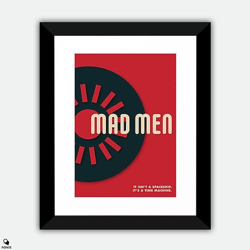 Mad Men Vintage Bauhaus Framed Print