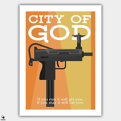 City of God Minimalist Poster