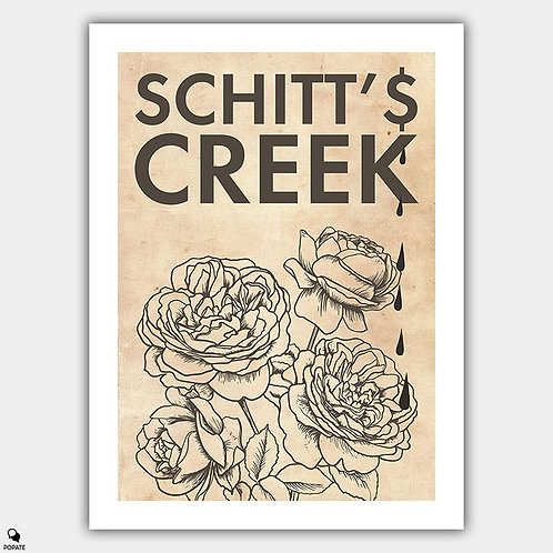 Schitt's Creek Alternative Poster - Roses